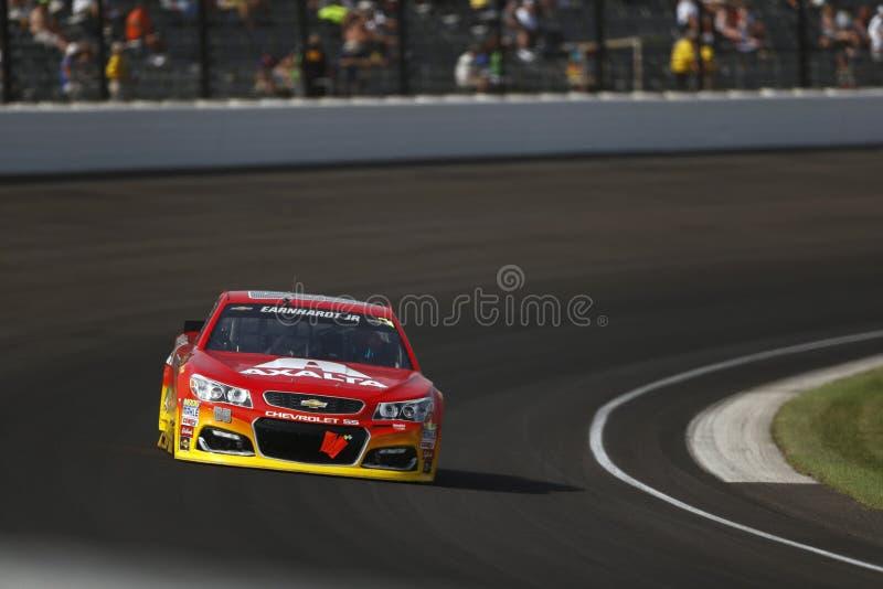 NASCAR: 24 juli Gevecht Gewonde Coalitie 400 stock foto
