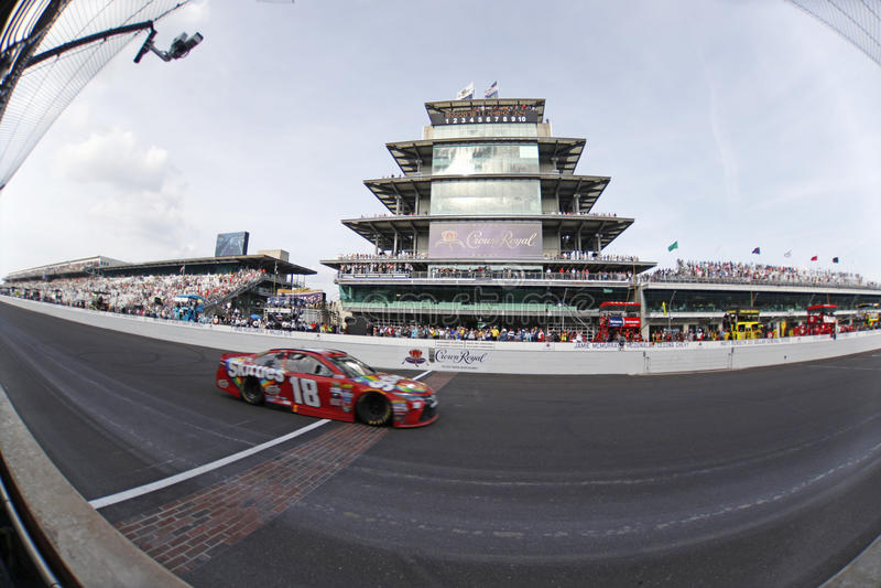 NASCAR: 24 juli Gevecht Gewonde Coalitie 400 stock foto's