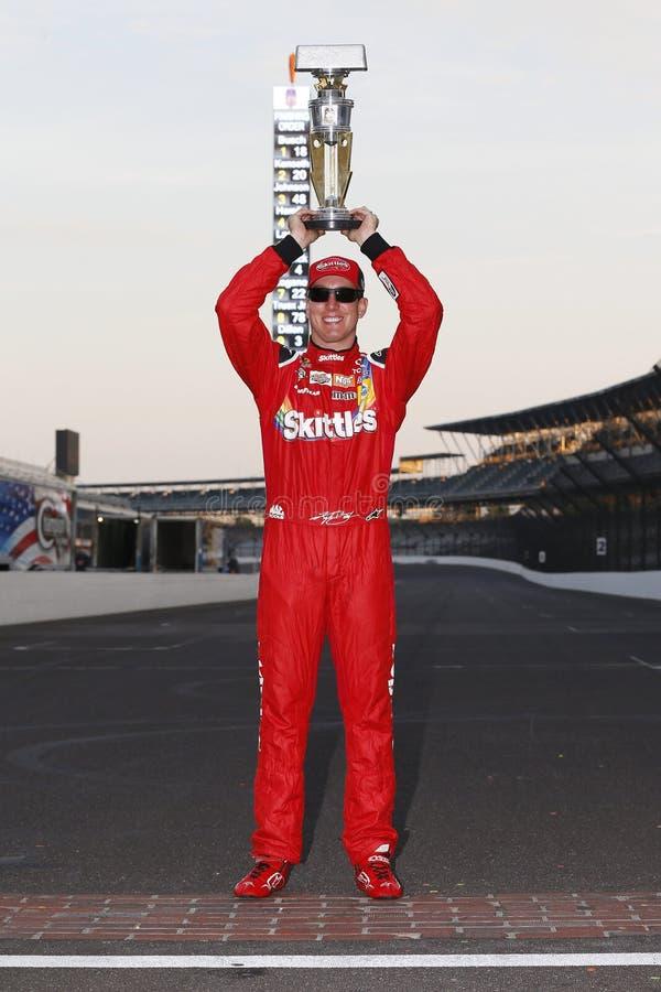 NASCAR: 24 juli Gevecht Gewonde Coalitie 400 royalty-vrije stock fotografie