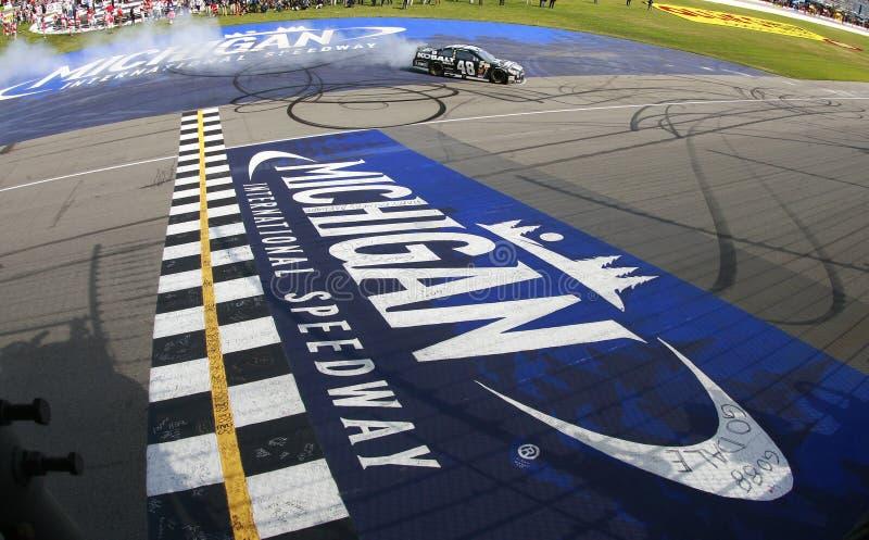 NASCAR: Jun 15 versnelt Leningen 400 royalty-vrije stock afbeelding