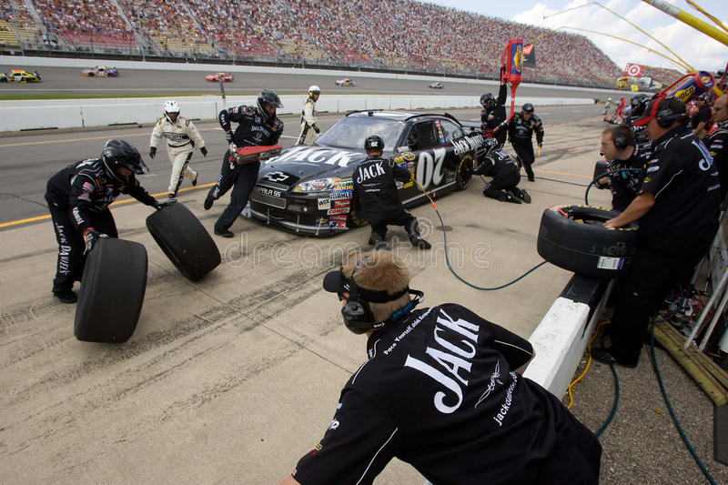 NASCAR: June 14 LifeLock 400 stock image