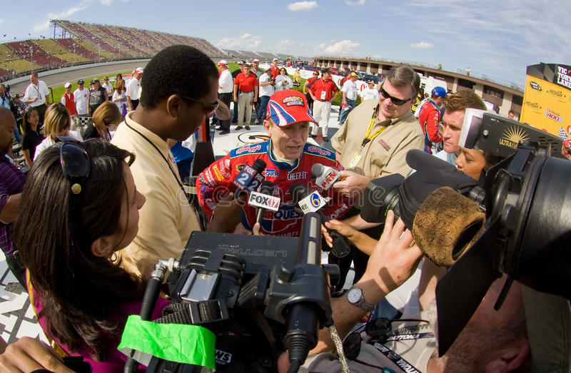 NASCAR: June 14 LifeLock 400 royalty free stock photos