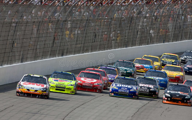NASCAR: June 14 LifeLock 400 royalty free stock photo
