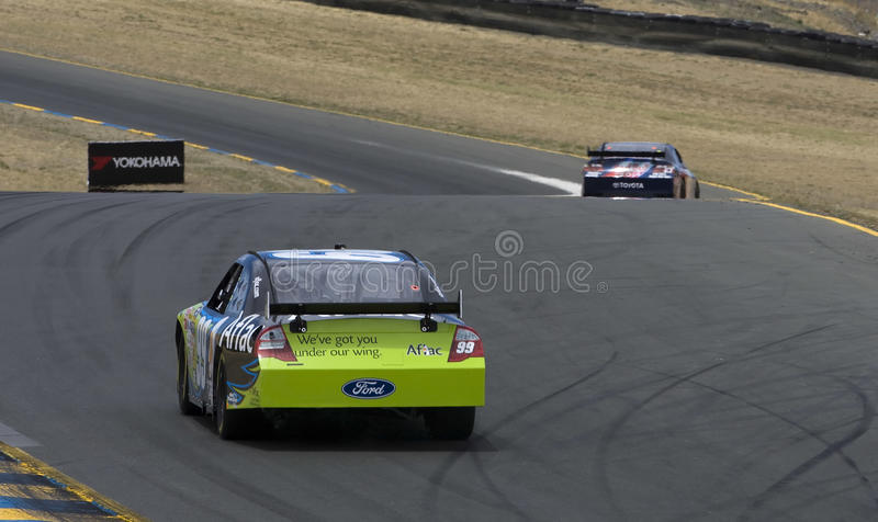 NASCAR: June 19 Toyota/Save Mart 350 royalty free stock images