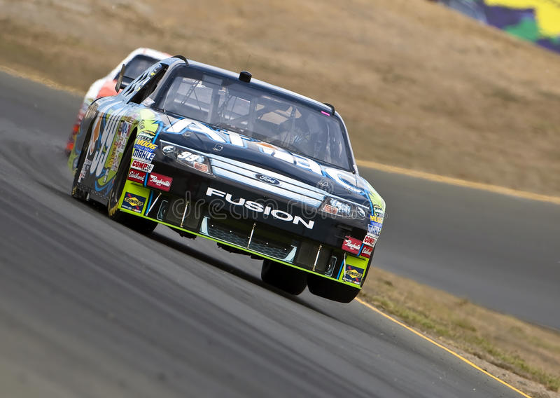 NASCAR: June 19 Toyota/SaveMart 350 stock image