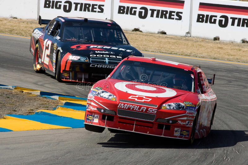NASCAR: June 20 Toyota/Save Mart 350 stock images