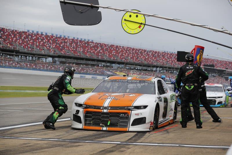 NASCAR: June 22 GEICO 500 royalty free stock image