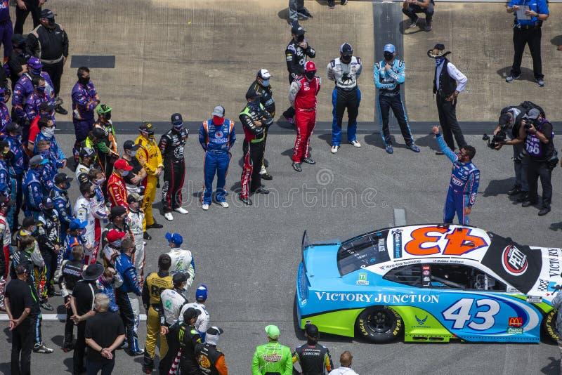 NASCAR: June 22 GEICO 500 stock photos