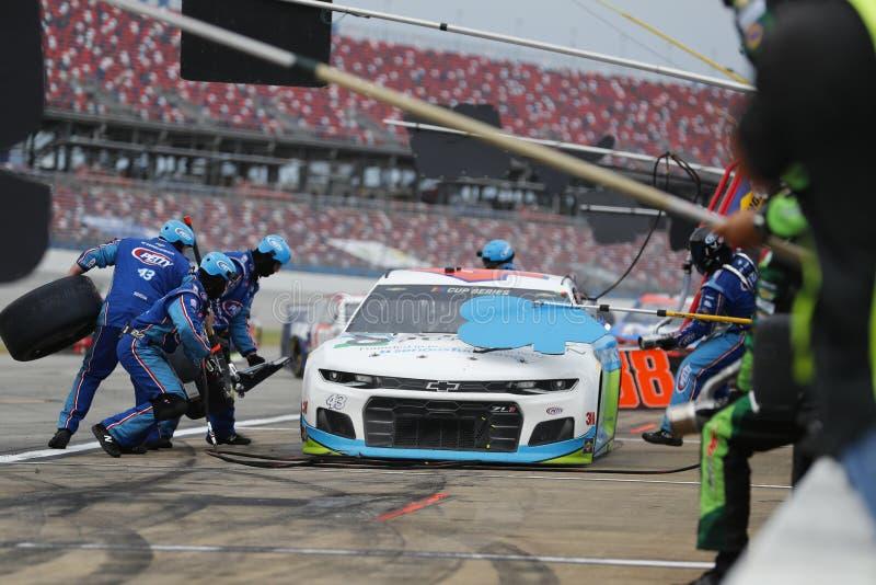 NASCAR: June 22 GEICO 500 royalty free stock photos