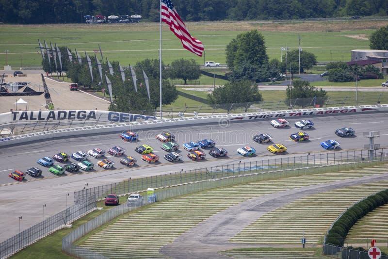 NASCAR: June 22 GEICO 500 stock photography