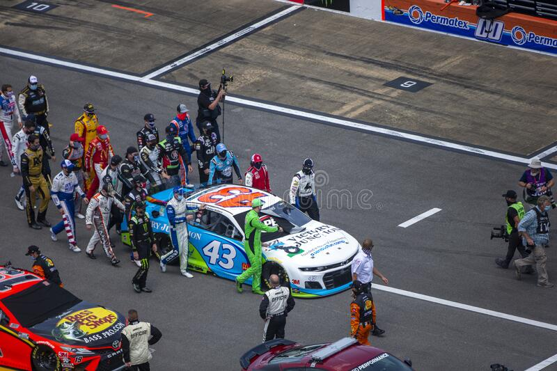 NASCAR: June 22 GEICO 500 royalty free stock images