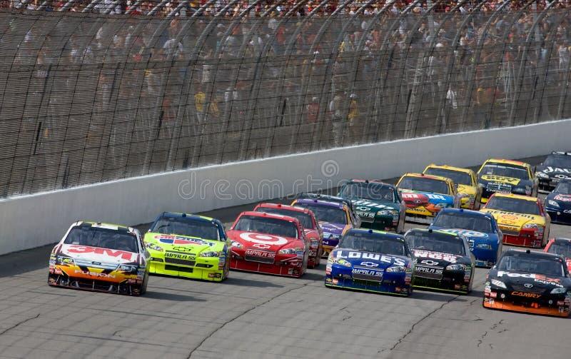 NASCAR: Junho 14 LifeLock 400 foto de stock royalty free