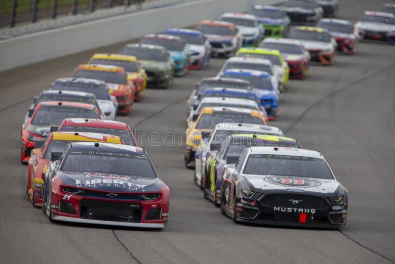 NASCAR: 30 juni het Kamperen Wereld 400 stock foto's