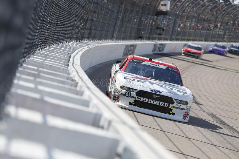 NASCAR: Juni 17 Iowa 250 fotografering för bildbyråer