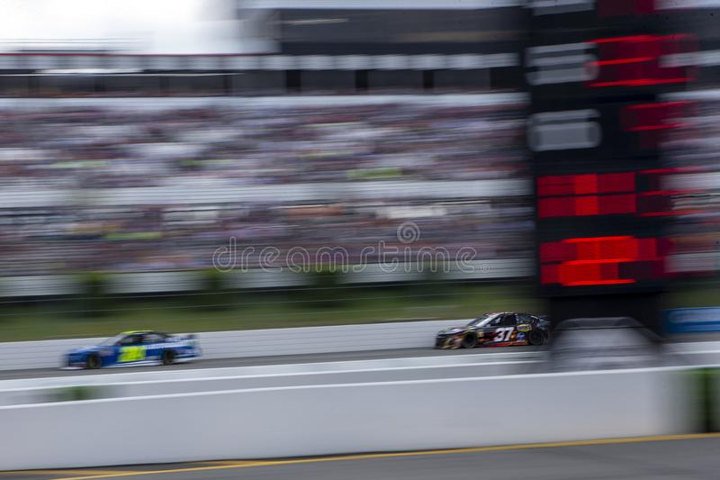 NASCAR: 02 juni Pocono 400 royalty-vrije stock afbeelding