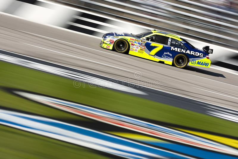 NASCAR: Juntamentos 500 novembro de 7 imagem de stock royalty free