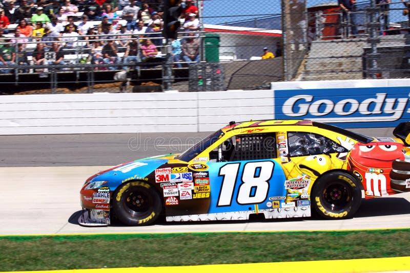 NASCAR - K Busch em Martinsville 2009 imagem de stock royalty free