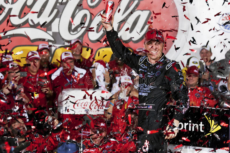NASCAR: Kevin Harvick Wins Coca-Cola 600 stock photos