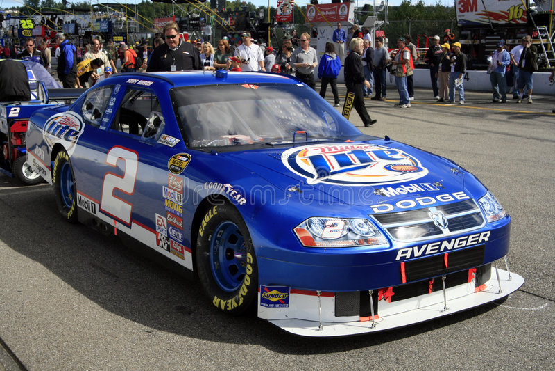 Download NASCAR - Kurt Busch's #2 Mill Editorial Stock Image - Image: 4943814