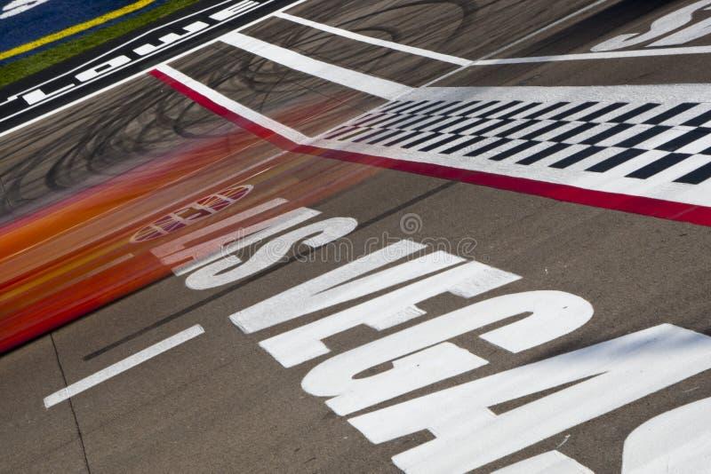 NASCAR: Las Vegas Motor Speedway royalty free stock images