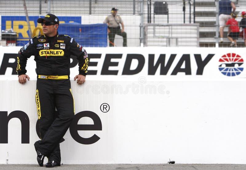 NASCAR : Le 26 août Irwin usine le chemin de nuit photo libre de droits