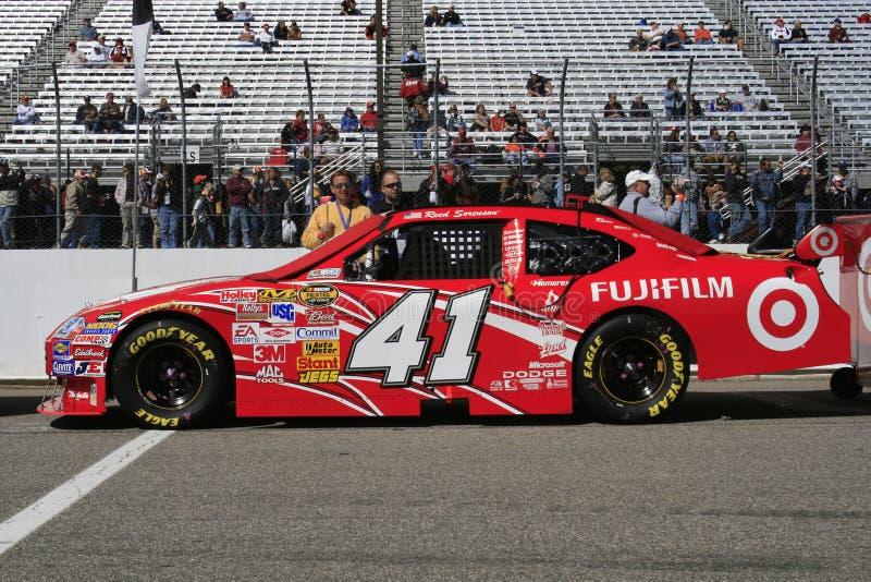 NASCAR - Le LIT DE CAMP de Sorenson tubulaire photographie stock libre de droits