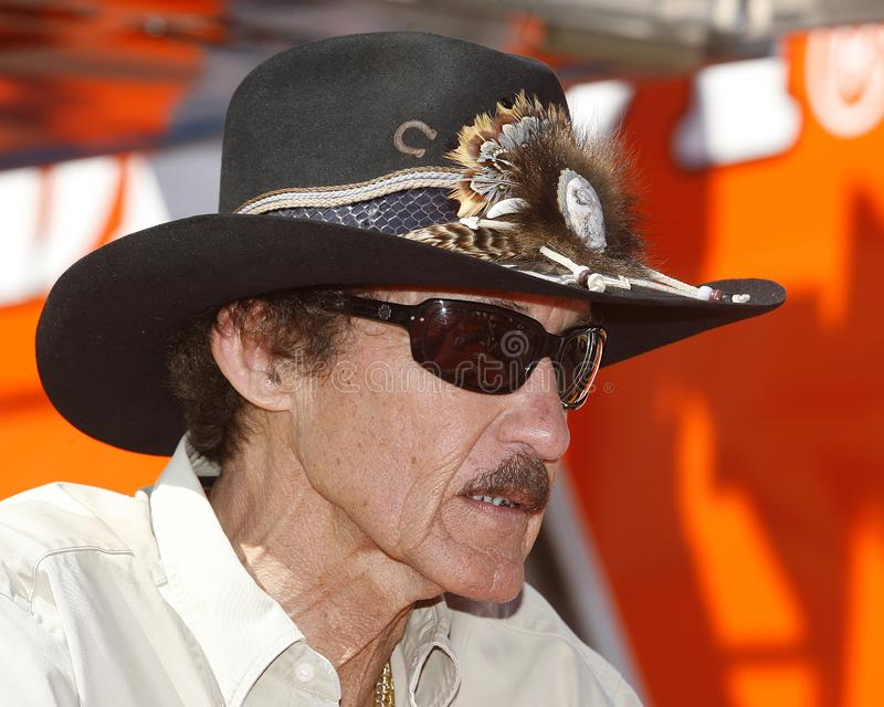 NASCAR-legend Richard Petty royaltyfri foto
