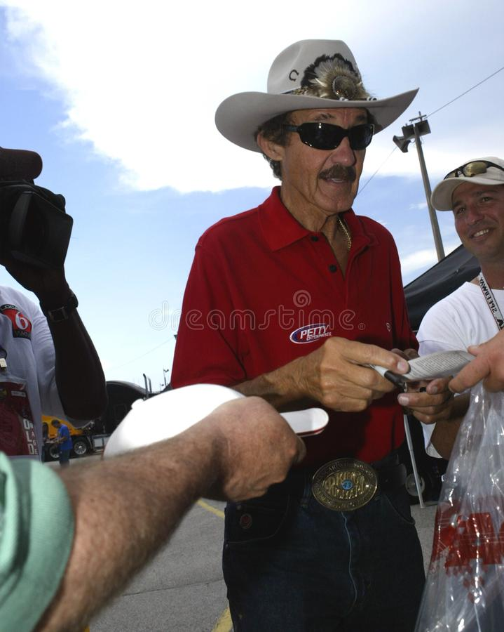 NASCAR-legend Richard Petty arkivfoton