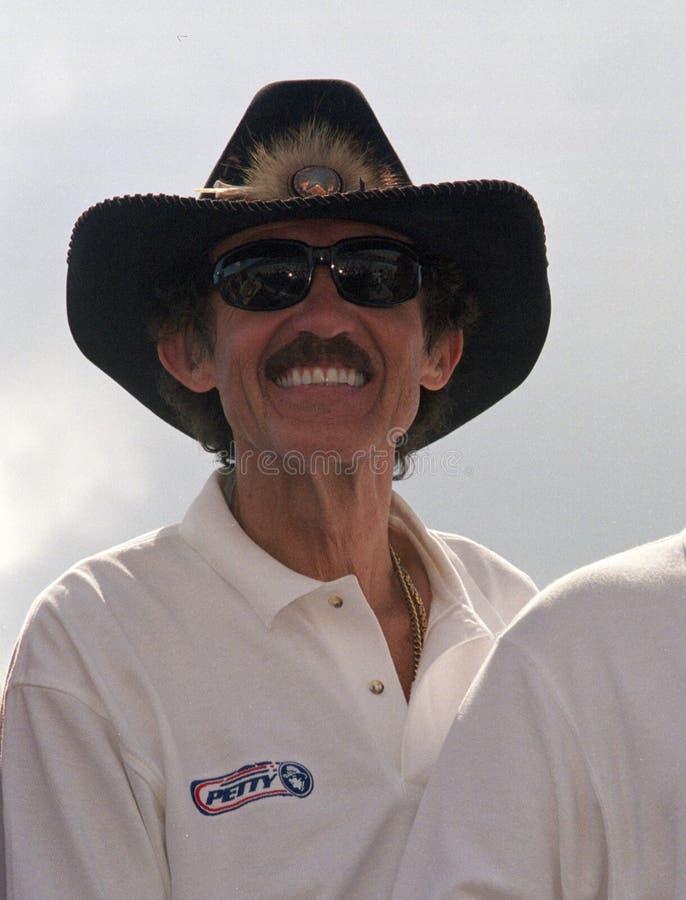 NASCAR-legend Richard Petty royaltyfria bilder