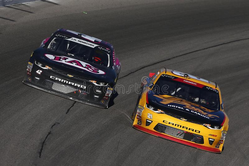 NASCAR: Lotteria 300 di Kansas del 20 ottobre fotografia stock