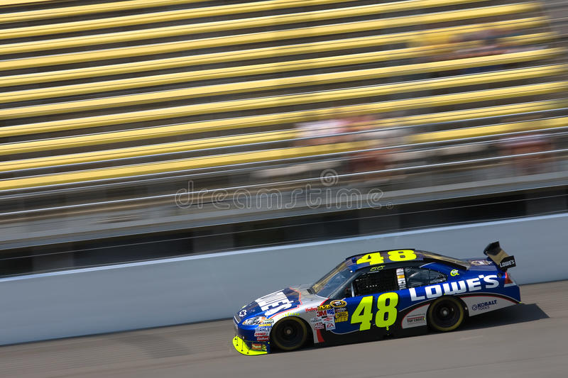 Nascar Lowe S Chevrolet Aug 14 Carfax 400 Editorial Stock Photo Image Of Auto Michigan 10573653