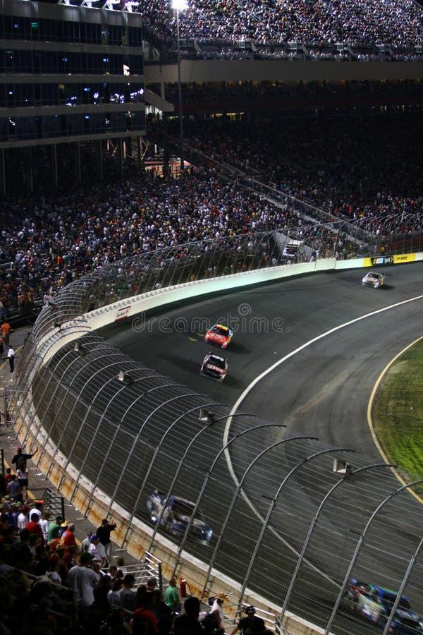 NASCAR - Lowes - volta 1 fotos de stock