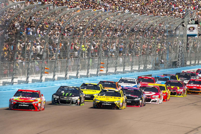 NASCAR: Am 13. März gutes Sam 500 stockfotos