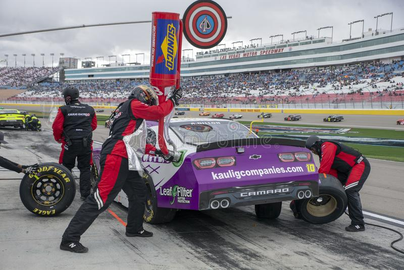 NASCAR: 02 maart Boyd Gaming 300 royalty-vrije stock foto