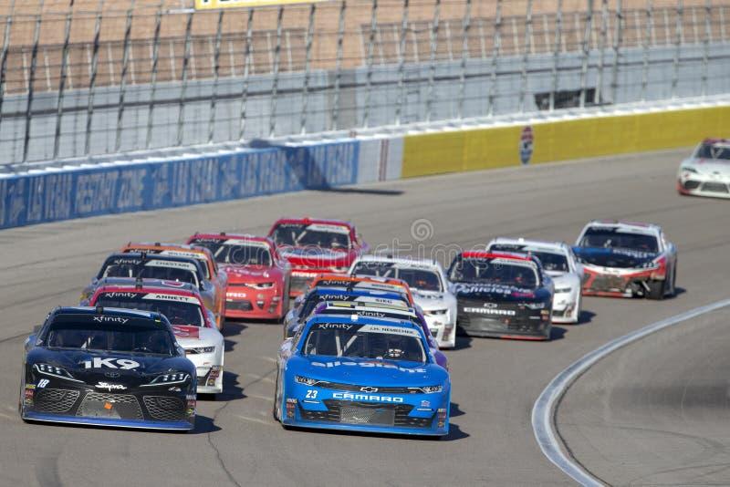 NASCAR: 02 maart Boyd Gaming 300 royalty-vrije stock fotografie