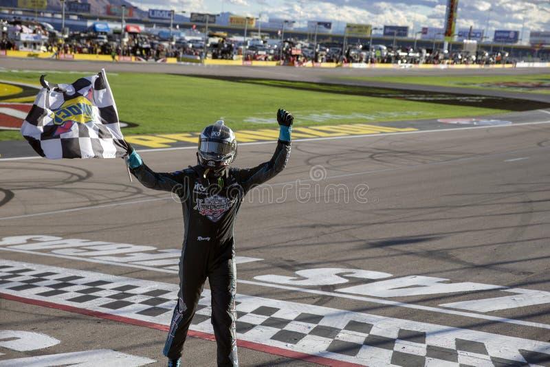 NASCAR: 02 maart Boyd Gaming 300 stock afbeelding