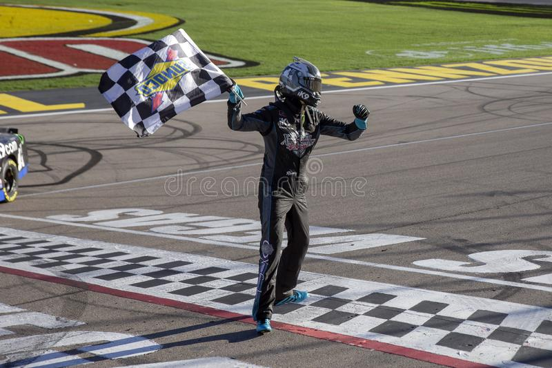 NASCAR: 02 maart Boyd Gaming 300 royalty-vrije stock afbeelding