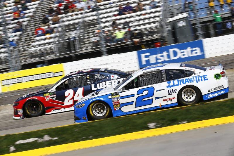 NASCAR: 26 maart STP 500 royalty-vrije stock afbeelding