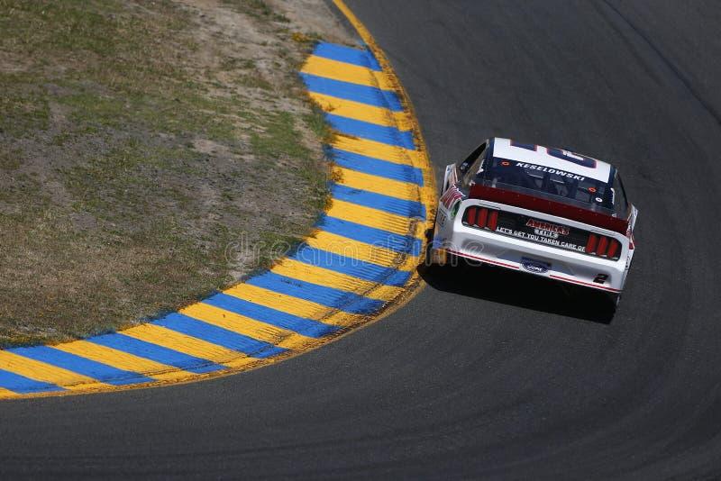 NASCAR : MARCHÉ 350 du 21 juin TOYOTA/SAVE image stock