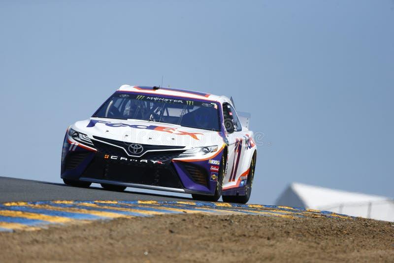 NASCAR : MARCHÉ 350 du 21 juin TOYOTA/SAVE images stock