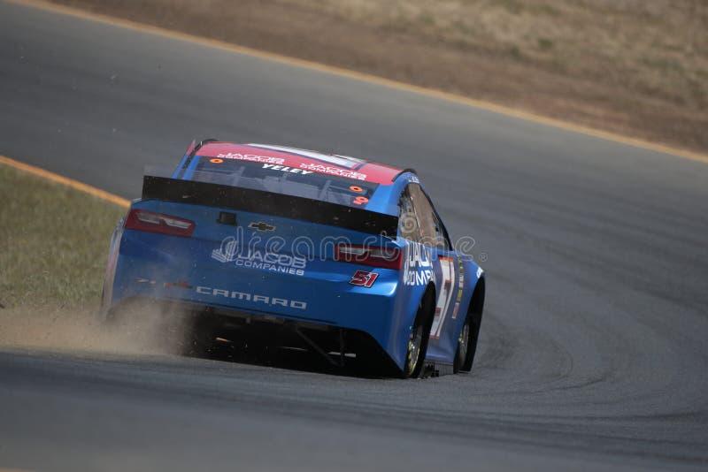 NASCAR : MARCHÉ 350 du 21 juin TOYOTA/SAVE photos stock