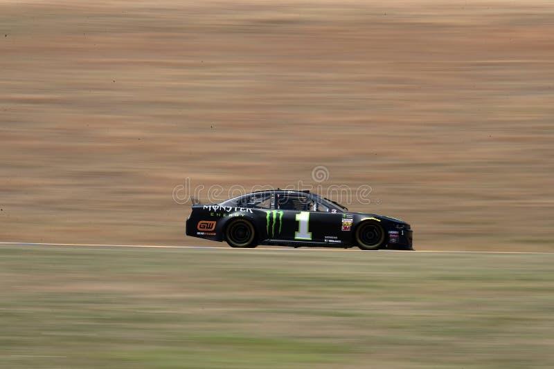 NASCAR : MARCHÉ 350 du 21 juin TOYOTA/SAVE images libres de droits