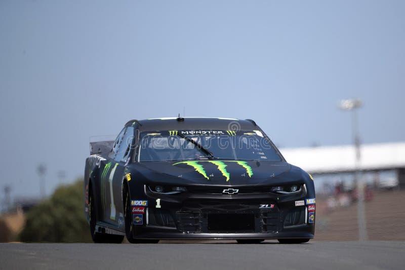NASCAR : MARCHÉ 350 du 21 juin TOYOTA/SAVE photo libre de droits