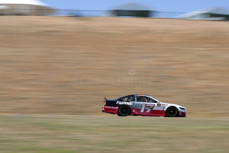 NASCAR : MARCHÉ 350 du 21 juin TOYOTA/SAVE photographie stock