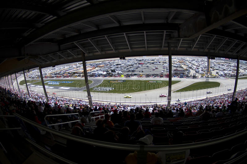 NASCAR: March 7 Kobalt Tools 500 royalty free stock photo