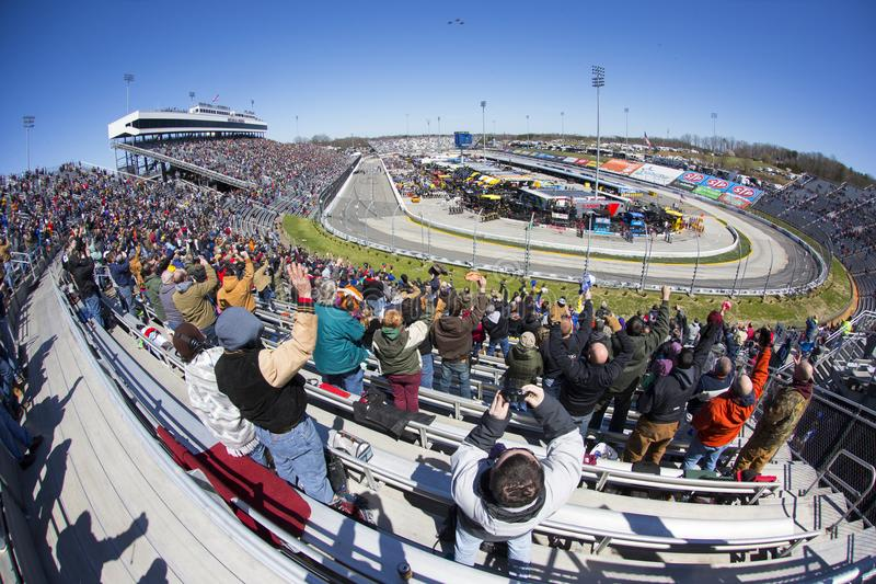 NASCAR: March 26 STP 500 stock images