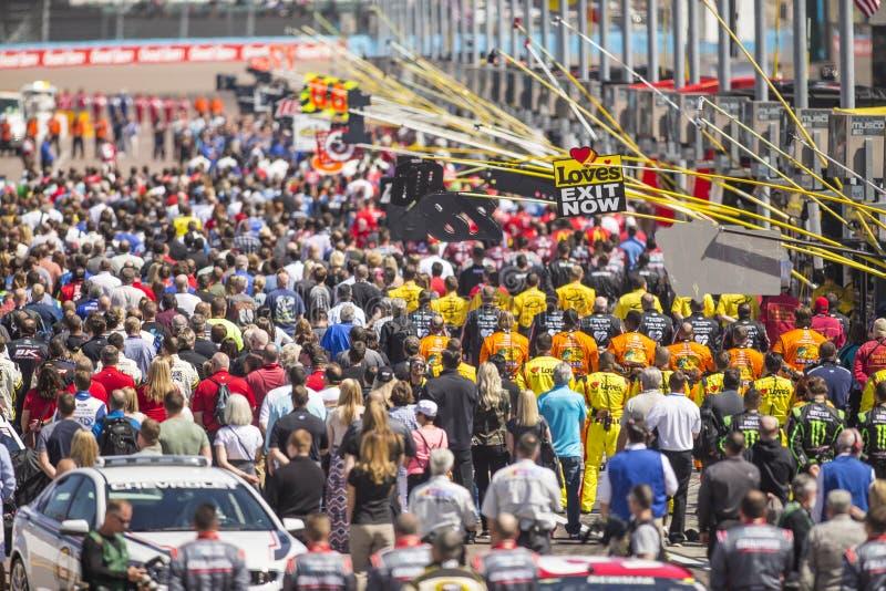 NASCAR: Mars 13 goda Sam 500 arkivfoto