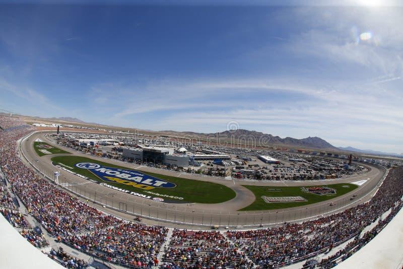 NASCAR: Mars 12 Kobalt 400 royaltyfria foton