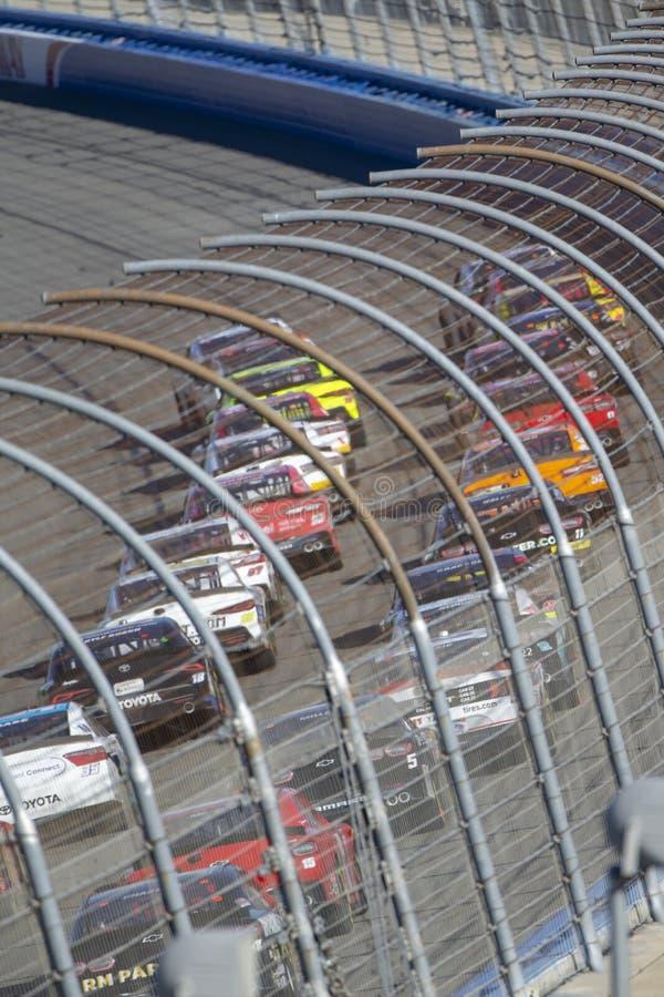 NASCAR: Marschera Alliance för 16 produktion grupp 300 royaltyfri bild