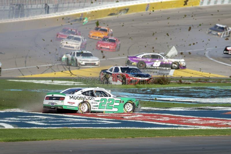 NASCAR: Marzec 02 Boyd hazard 300 fotografia stock